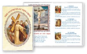 Stations of The Cross- Bookle -Plastic Cover