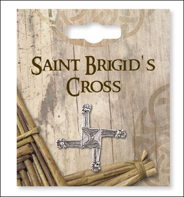 St Brigid's Cross on pin