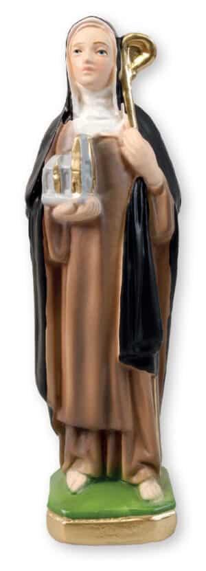 St. Brigid –  8 inch Plaster Statue