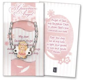 Bracelet-Guardian Angel-Pink