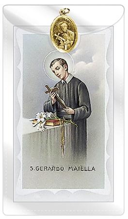 St.Gerard Prayer & Leaftlet
