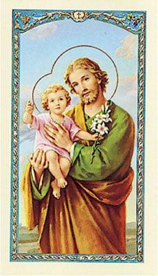St. Jospeh Medal & Prayer Leaflet