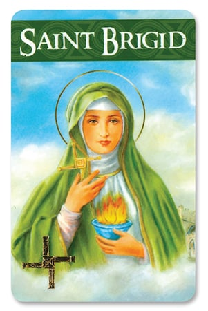 St. Brigid – Prayer Card/Laminated