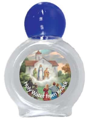 Knock Holy Water Bottle Plastic