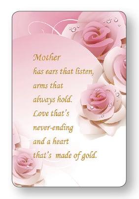 prayer card mother