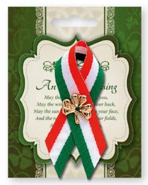 St.Patrick's Day Ribbon/Shamrock