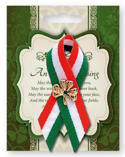 Shamrock badge St. patricks day