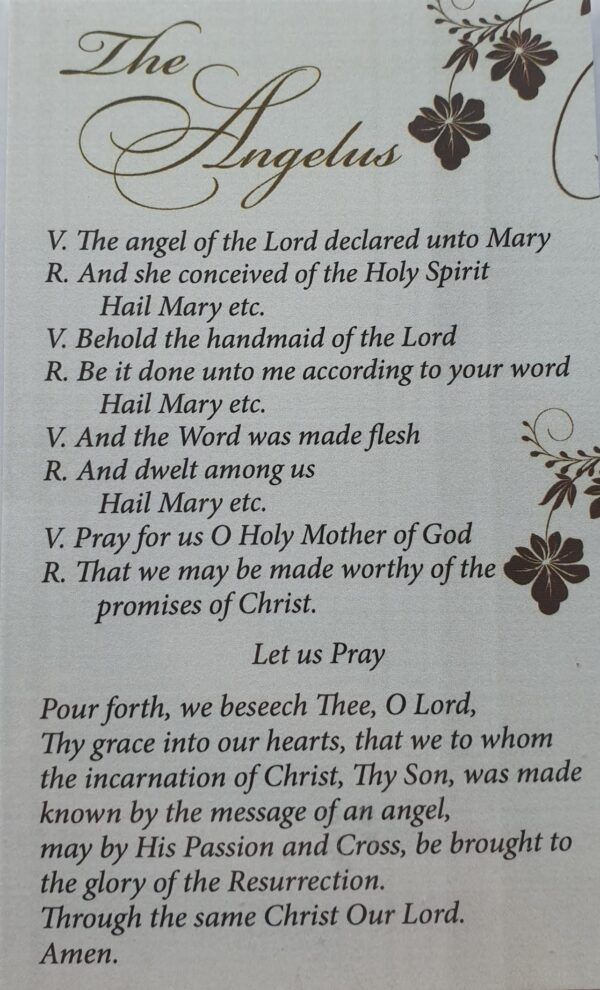 Angelus Prayer