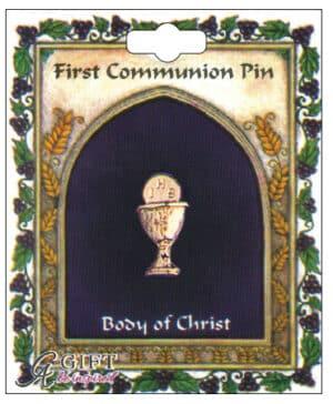Communion Chalice Brooch