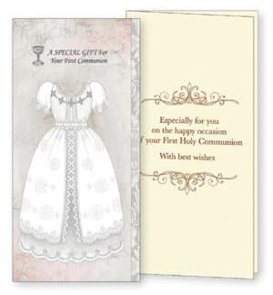 Communion Hand Crafted Gift Card/Girl
