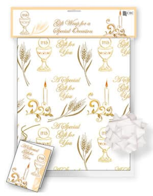 Communion Gift Paper/Tag/Bow