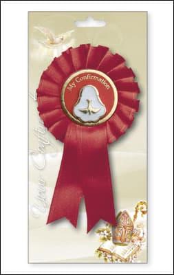 Confirmation Rosette/Pearl Medal