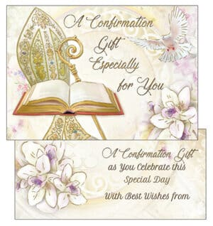 Confirmation Gift Wallet Card/Symbolic