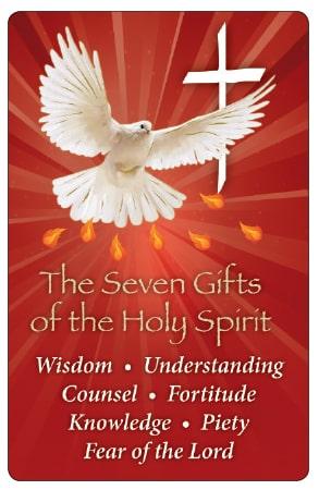 Laminated Prayer Card/Confirmation