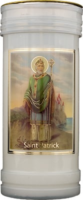 St Patrick's Candle