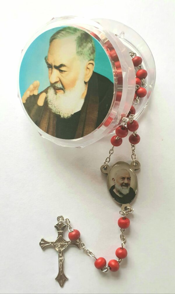 St. Pio Rose Scented Beads