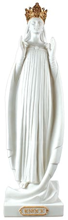 Our Lady of Knock 24 inch Fibre Glass Statue