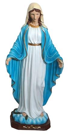 Miraculous 24 inch Fibre Glass Statue