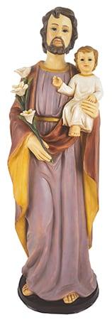 Saint Joseph 24 inch  Fibre Glass Statue