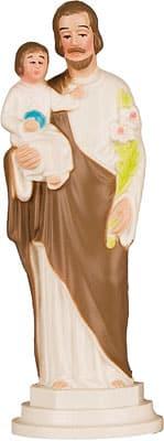 St Joseph Plastic Statue 4″