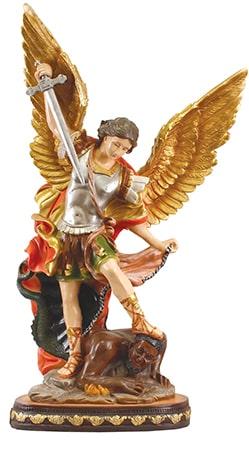 Saint Michael 24 inch Fibre Glass Statue