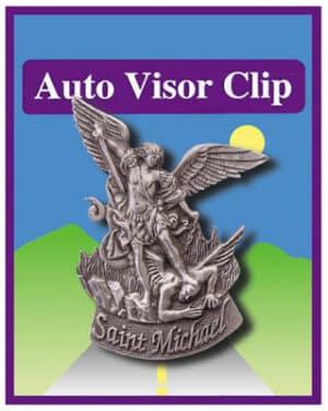 Car Visor Clip – St Michael