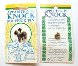 Knock Lamb Of God & Cross Pin