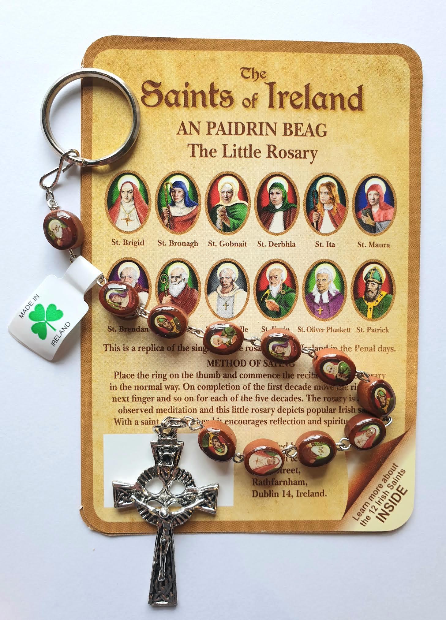 Saints of Ireland Keyring