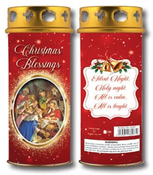 Christmas Blessings – Red – Silent Night