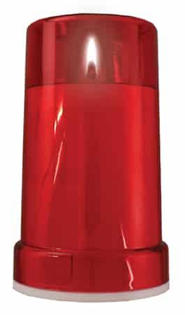 Battery Grave Light Red